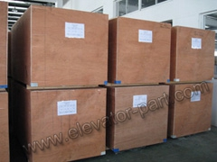 plywood case for elevator door system